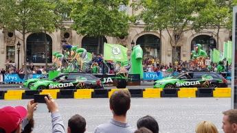 Skoda - the green jersey sponsors