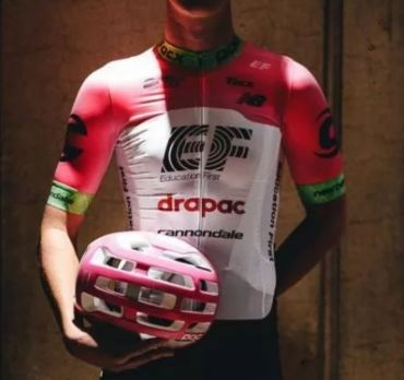 The new EF Drapac team kit for 2018 is bold and I love it