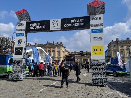 The Start of Paris-Roubaix